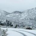 Зима в планината, време, времето, сняг