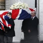 Вижте първи кадри от погребението на Желязната лейди