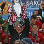 """Юнайтед вдигна титлата, """"Олд Трафорд"""" изпрати сър Алекс (ВИДЕО)"""