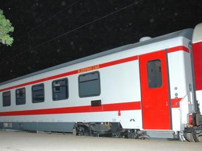 Виц: Спален вагон