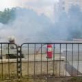 запалена кола,бул.България
