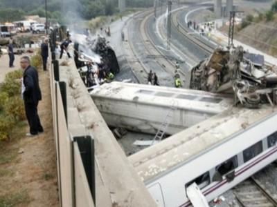 Влак в Испания дерейлира