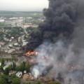 катастрофа на влак в Канада