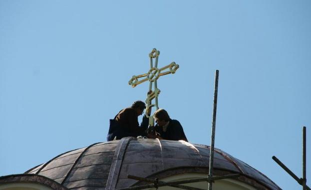 Вдигат църква в местността Иракли