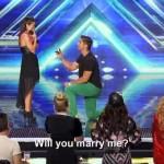 Необичайно предложение за женитба в X Factor