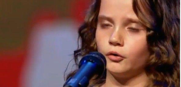 """Малко момиченце изуми съдии в """"Холандия търси талант"""""""