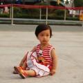 китайско дете, момиченце