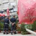 Паднал стълб във Варна