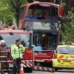 В Лондон катастрофира двуетажен автобус, има ранени в критично състояние