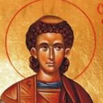Св. Стефан прощава на убийците си