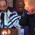 Жестомимичен преводач на погребението на Мандела