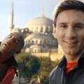 Лео Меси в реклама