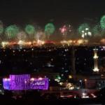 Новогодишните фойерверки в Дубай влязоха в Гинес (ВИДЕО )