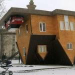 Обърната къща стана хит в Русия (СНИМКИ)
