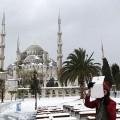 Сняг на Света София, Турция