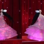 Китайско момиче се върти 4 часа без почивка на фестивал