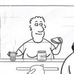 Късометражна анимация доказва, че може да срещнете любовта навсякъде (видео)