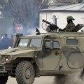 Крим, Украйна, руски войници