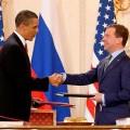 Обама и Медведев, САЩ – Русия