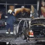 С пламналото ауди е извършено тежко криминално престъпление?