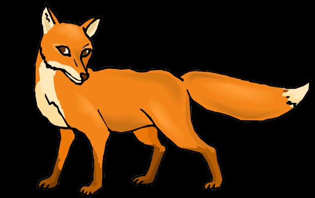 Кума Лиса, лисица
