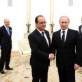 Владимир Путин и Франсоа Оланд
