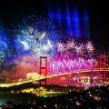 Нова година в Истанбул, Турция