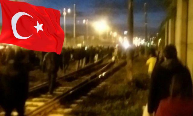 Експлозията в Истанбул е заснета от видео.
