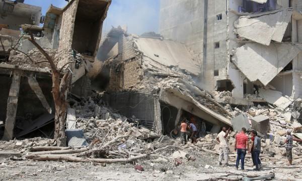 След терористите в Източен Алепо останаха само руини