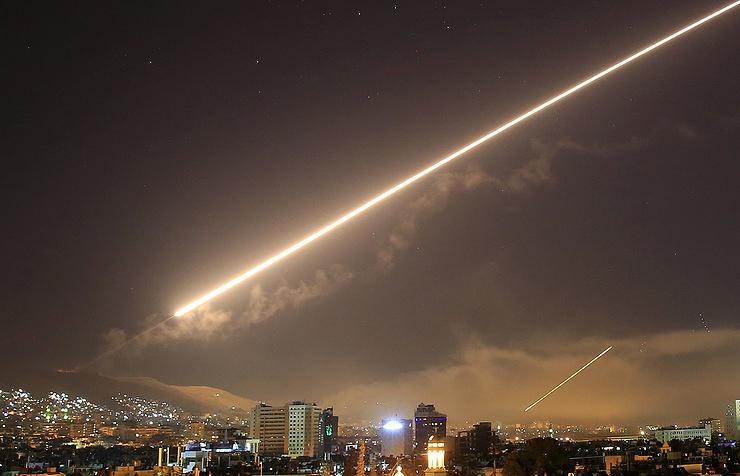 Противовъздушната отбрана на Сирия