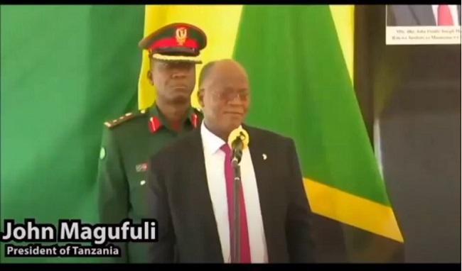 Джон Магуфули, Президент на Танзания