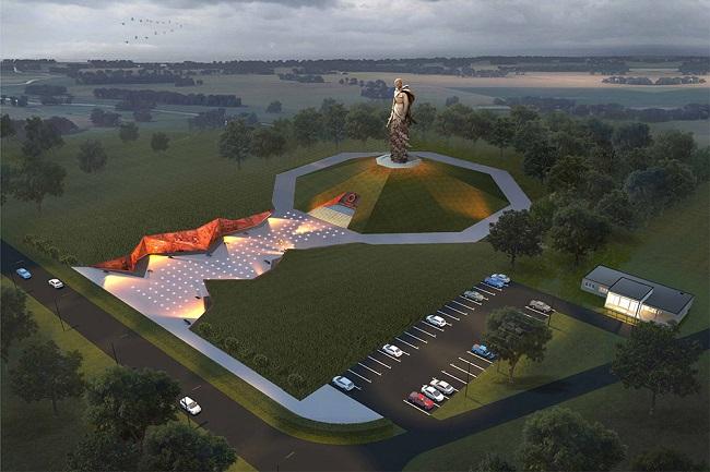Паркът Мемориалът в Ржев