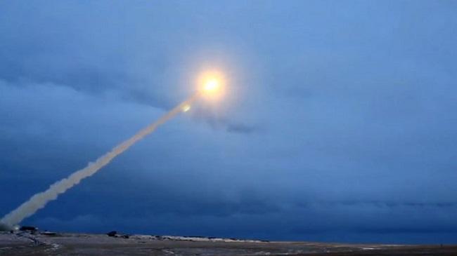 """Изстрелване на ракета """"Буревестник"""""""