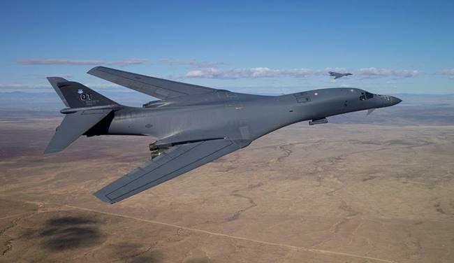 Самолетът B-1B. Снимка: Wikimedia