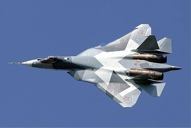 Самолет Су-57