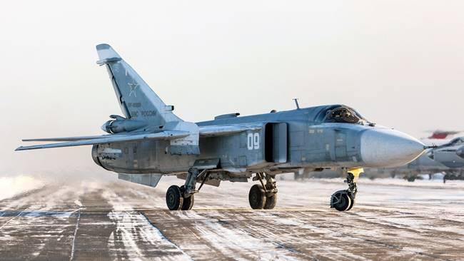 Су-24. Снимка: Минобороны РФ