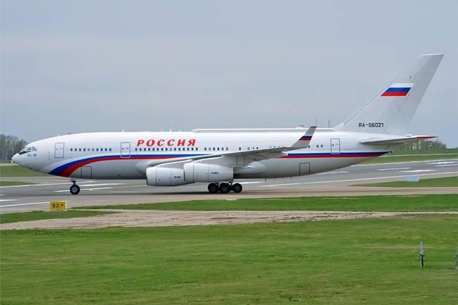 Самолетът ИЛ-96-300ПУ. Снимка: Wikimedia